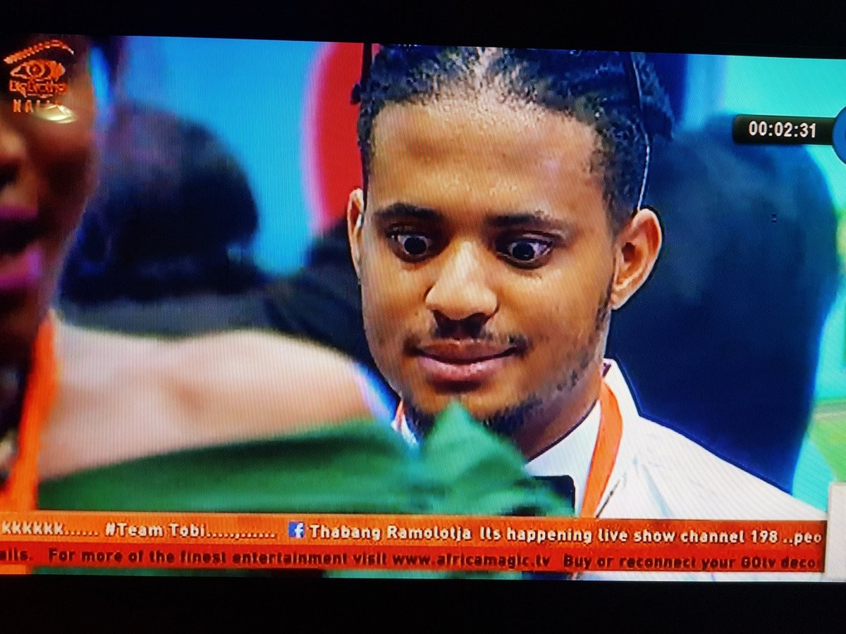 #BBNaija: Caption these photos of housemate Rico Swavey..Lol