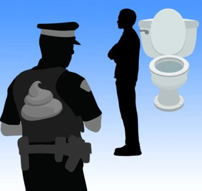 #PooWatch enters 24th day as drug suspect refuses to use toilet