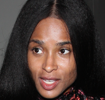 Ciara steps out without any make-up...and fans weren't feeling her look (photos)