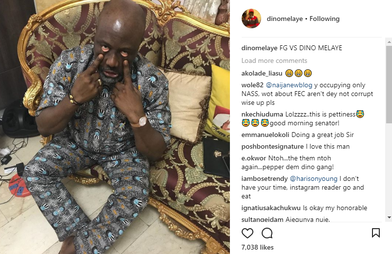 Assassination attempt: Dino Melaye mocks reports that FG has filed charges of false claims against him