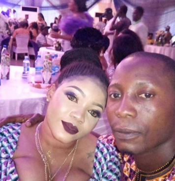 This guest at Omotola's 40th birthday party has got everyone talking