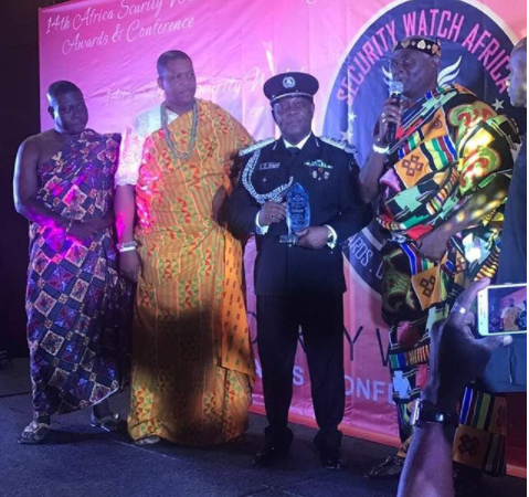 "Lagos Police CP, Imohimi Edgal honoured as ""the most outstanding anti crime police chief in West Africa"""