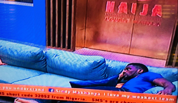 When the reality hits that you are no longer BBNaija Head of house..featuring Tobi Bakre