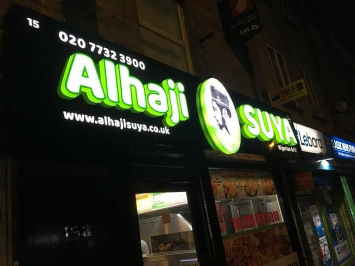 Nigerian man opens Suya Spot in UK (Photos)