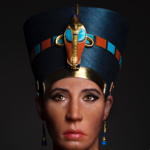 The fair skin colour used in the 3D reconstruction of Egypt's Queen Nefertiti is causing some racial backlash