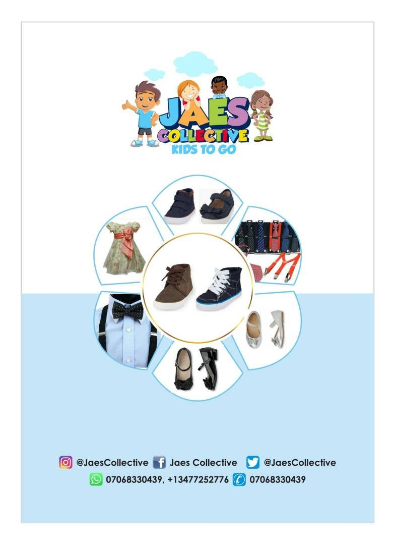 Introducing Jaescollective, Nigeria's first children's styling, clothing wear and general supply store