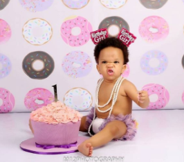 Adaeze Yobo celebrates her daughter's first birthday, shares how she almost terminated the pregnancy after two doctors said it was fibroid