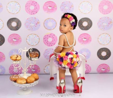 Adaeze Yobo celebrates her daughter