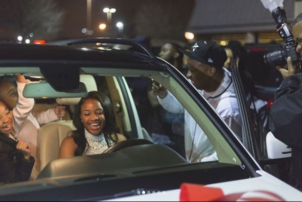 Rapper Yo Gotti buys his beautiful daughter a Benz Suv for her 16th birthday (Photos)