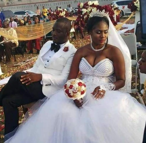 Photos: Chai! President Weah's new Director of Operations gets married to his wife's best friend in Liberia...without divorcing her in the U.S!