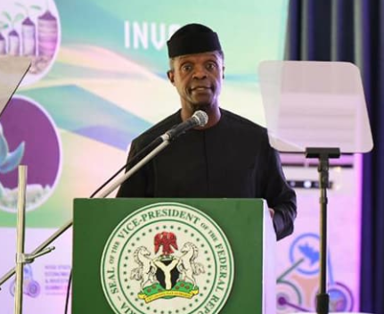 Image result for I didn't beg to be Vice President of Nigeria, I can leave at a short notice – Osinbajo