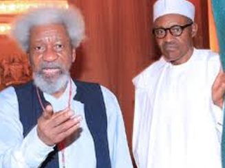Wole Soyinka to President Buhari ''I Think You Are In A Trance''