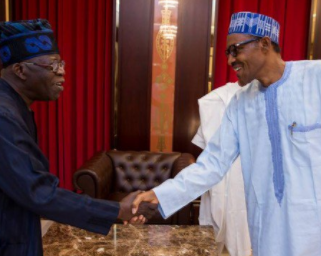 ''President Buhari joined politics to save Nigeria'' Bola Tinubu says