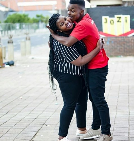 Lady who celebrated her boyfriend of one year on twitter two months ago with loved up photo, finds out he has a son and fiancee! Ouch!
