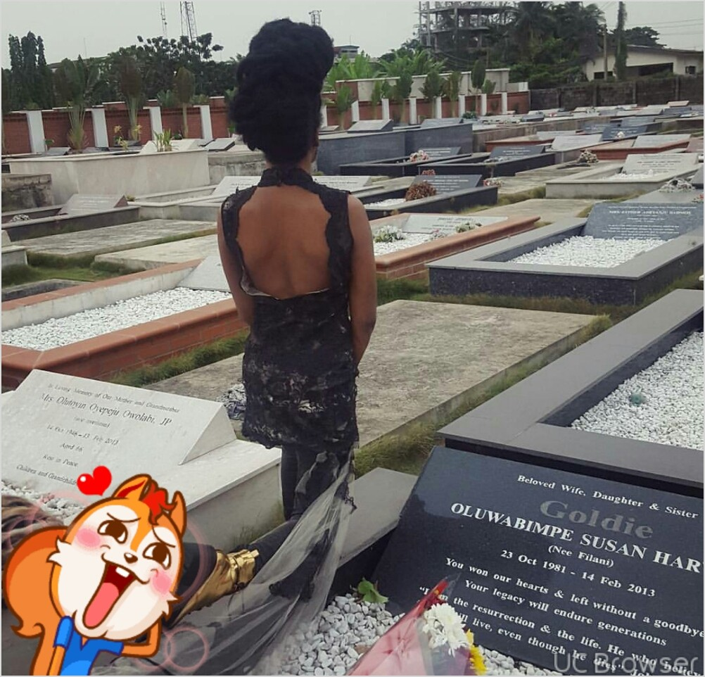 Denrele pays emotional tribute to his dear friend, singer Goldie, who died exactly 5 years ago today