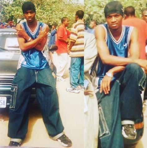 Paul Okoye aka King Rudy shares throwback photo
