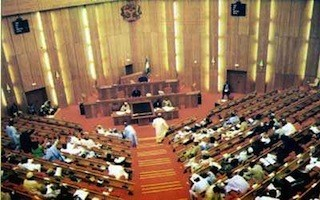 Senators run for their life as fire guts National Assembly Abuja