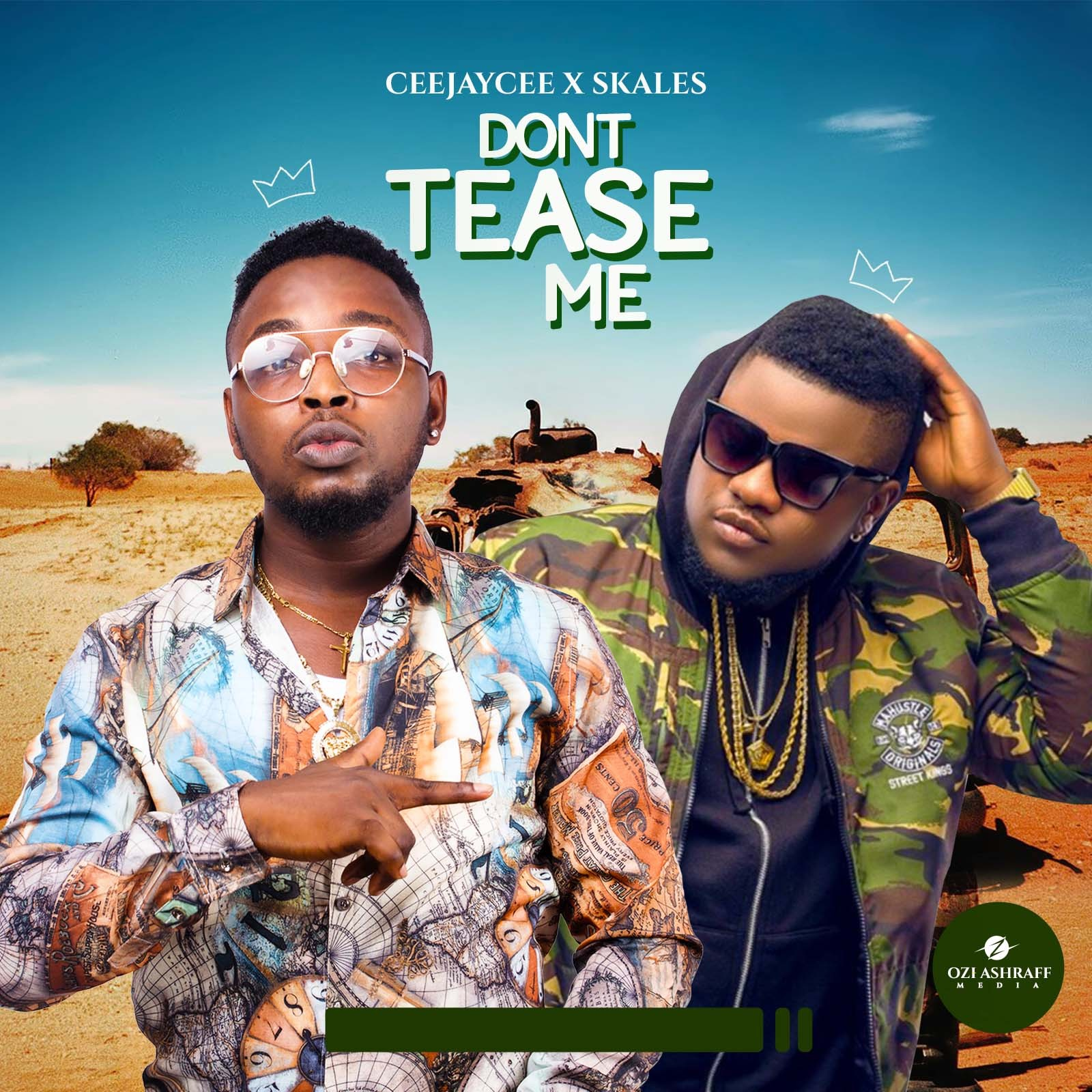 Skales shows support for CeeJayCee, jumps on Don't Tease Me (Video)