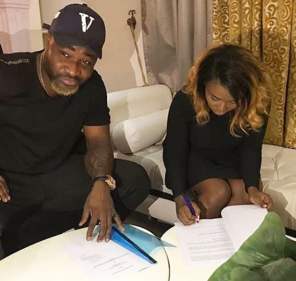 Harrysong signs singer, Lami Philips to his Alterplate record label