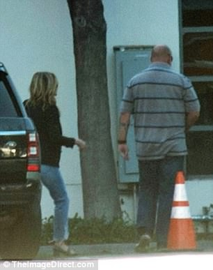 Jennifer Aniston is seen for first time since announcing the end of her 2-year marriage to Justin Theroux