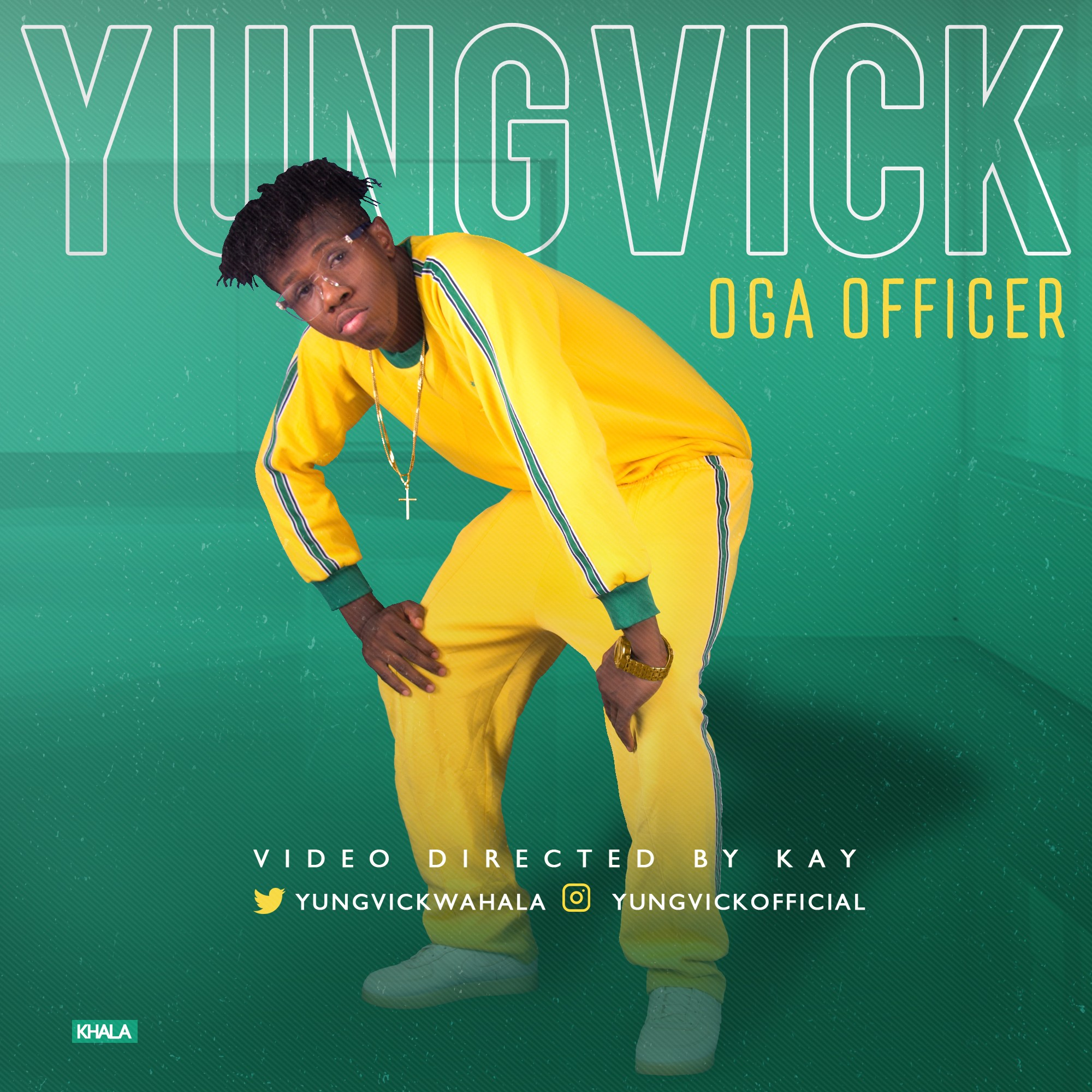 Video + Audio: Yung Vick - Oga Officer (Prod. Mr. E)