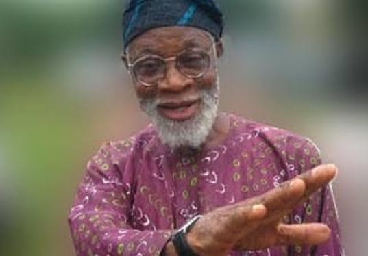 Renowned Playwright, Professor Akinwunmi Isola has died..