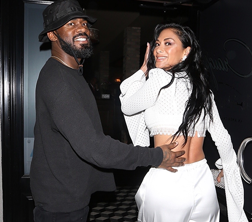 Photos: Nicole Sherzinger steps out for dinner with a black mystery man in West Hollywood.