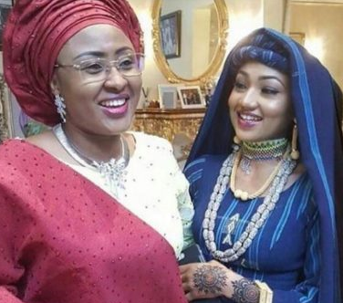 Zahra Buhari-Indimi wishes her mum, Aisha Buhari a Happy birthday, commends her for always speaking the truth