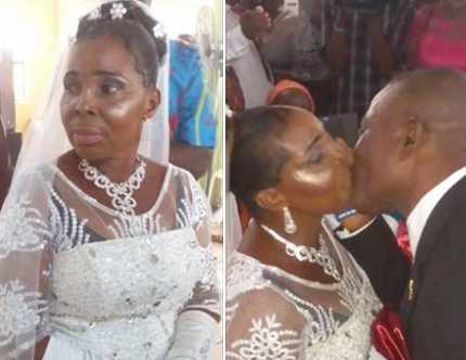Photos: 50-year-old woman weds for the first time in Port Harcourt