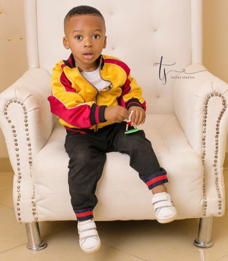 ''You have been my biggest strength and joy'' Tonto Dikeh celebrates son, King, as he turns two today, shares new photos of him