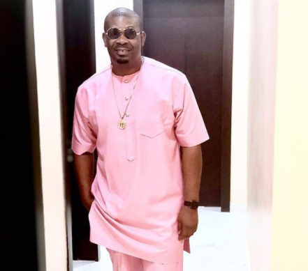 Screenshot: Don Jazzy tells female fan who asked him for money that a 'strange snake ate my money' lol