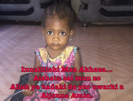 Sad! Katsina-based man mourns the daughter he mistakenly killed while reversing his car