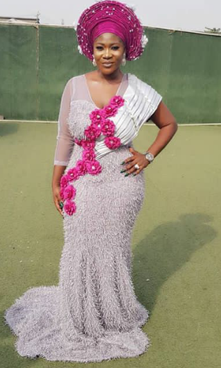Mercy Johnson came out to slay at a wedding