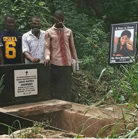 Nigerian actors mourn as actress Nora Ugo Nkeiruka is laid to rest
