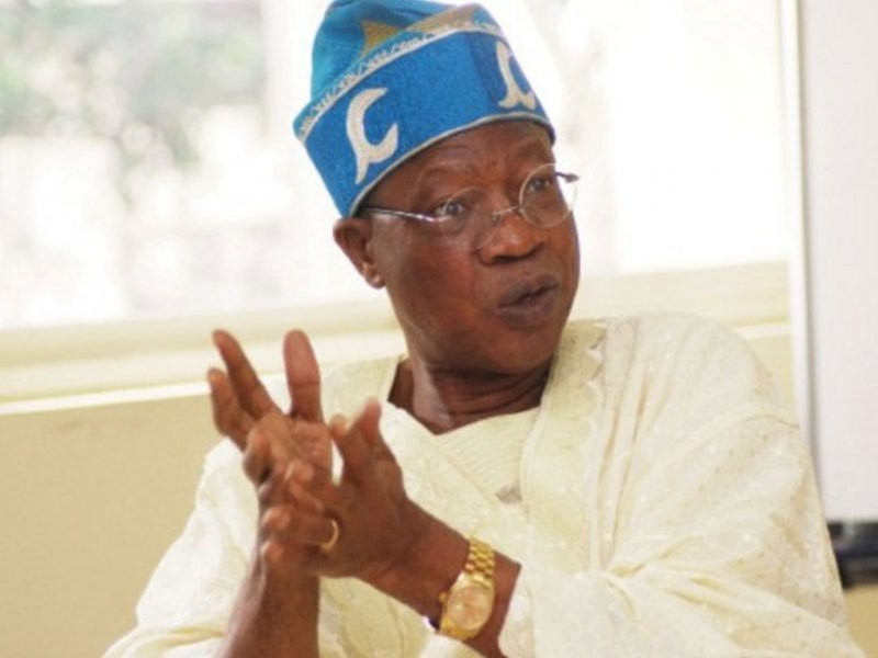 ''With President Buhari, Nigeria in safe and competent hands - Minister of Information, Lai Mohammed says