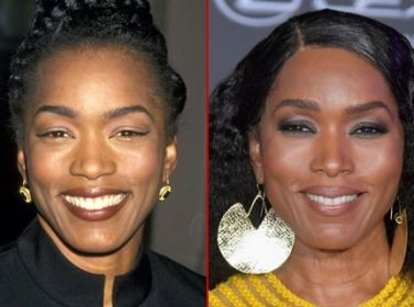Angela Bassett 25 years later...she almost still looks the same (photo)