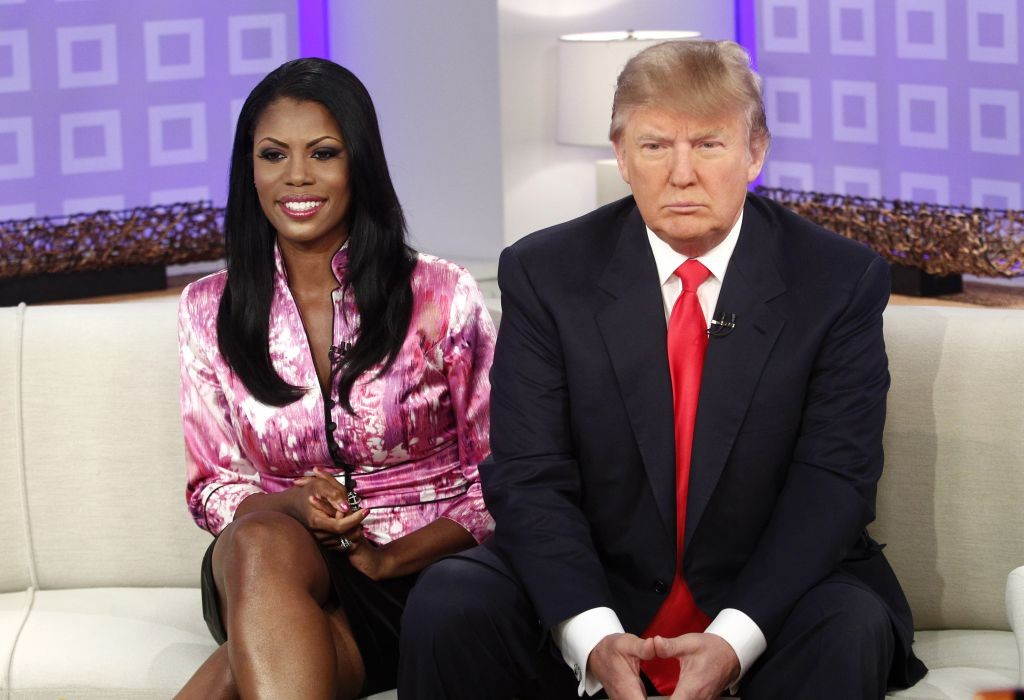 Watch former White House aide Omarosa