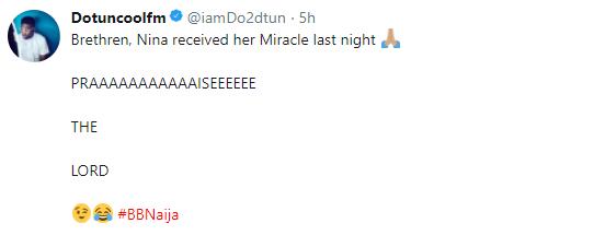 OAP Dotun slams Nigerians criticizing Miracle and Nina for having live sex in BBNaija house