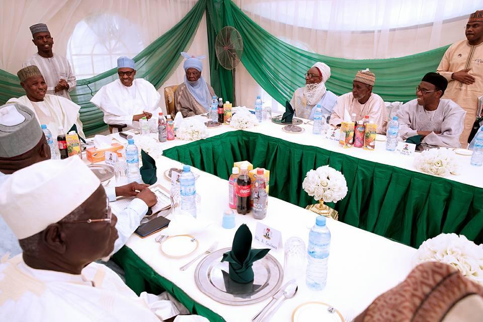 Photos: President Buhari?receives Katsina State Senior Citizen