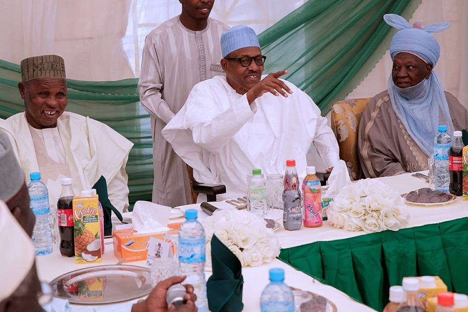 Photos: President Buhari?receives Katsina State Senior Citizen
