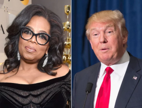 'Oprah Winfrey is insecure, I hope she runs so she can be exposed and defeated just like all of the others' - President Trump