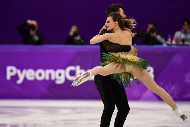 Photos: French Ice dancer Gabriella Papadakis suffers