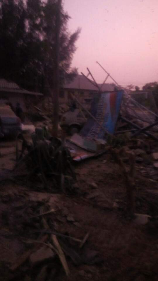 APC faction office in Kaduna demolished after suspending El Rufai