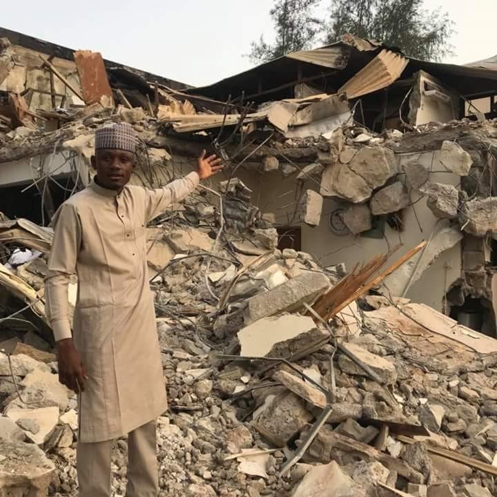 APC faction office in Kaduna demolished after suspending El Rufai