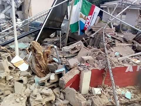 Kaduna state government gives reasons for the demolition of APC faction