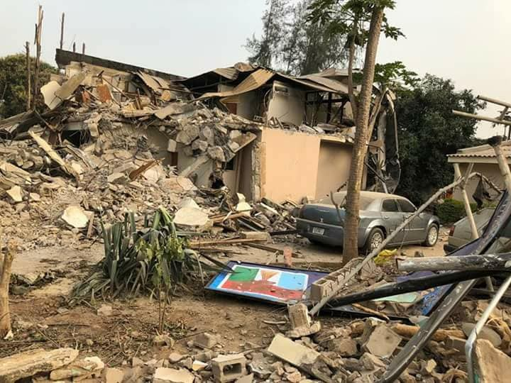 More photos of the demolished APC faction
