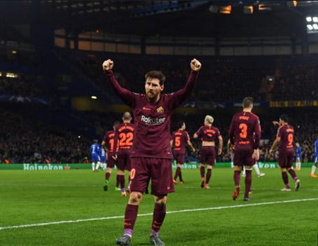 Finally, Lionel Messi scores against Chelsea for the first time in his career