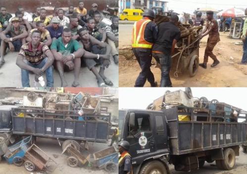 13 cart pushers jailed in Lagos State