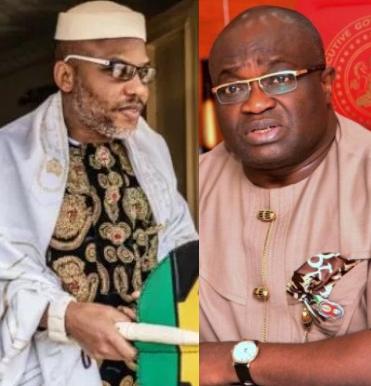 Nnamdi Kanu lies too much, worse than chameleon  - Abia state governor Ikpeazu tells BBC