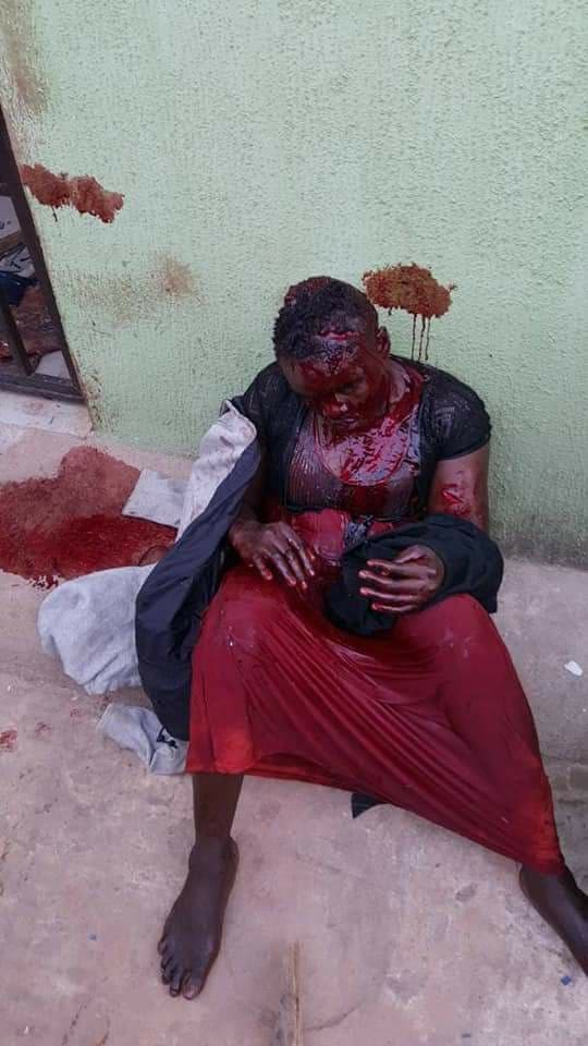 Graphic: Man attacks his wife with a machete, then used the machete to kill himself in Delta